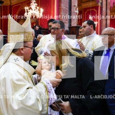 Liturġija tas-Sigħat fil-Quddiesa ta' Nofsillejl fis-Solennità tat-Twelid ta' Sidna Ġesù Kristu, fil-Katidral tal-Imdina – 24/12/18