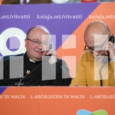 L-Arċisqof jattendi għall-ftuħ ta' l-istrina, Ħal Kirkop – 26/12/18