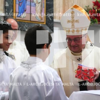 Quddiesa fis-Solennità ta' Marija Omm Alla u l-Jum Dinji tal-Paċi, fid-Dar tal-Providenza, is-Siġġiewi – 01/01/19