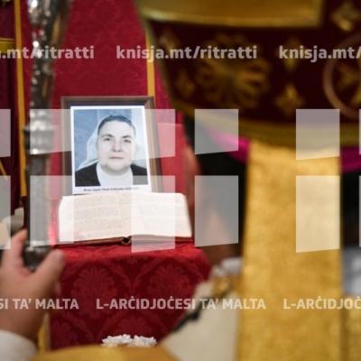 Quddiesa ta' ringrazzjament lil Alla talli għażel lill-Beata Suor Angèle Marie Littlejohn, fil-knisja parrokkjali ta' Ħal Għargħur – 13/01/19