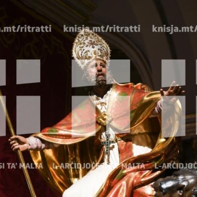 Quddiesa fil-festa liturġika ta' San Publiju, il-Furjana – 22/01/19