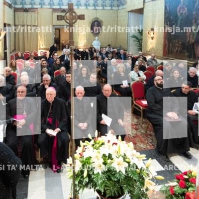 Ftuħ tas-Sena Ġudizzjarja, fit-Tribunal Ekkleżjastiku, il-Belt Valletta – 23/01/19