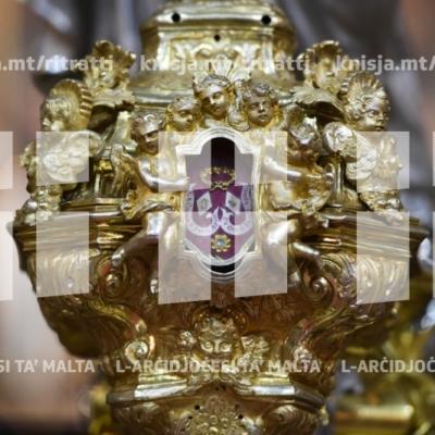 Quddiesa tal-Konverżjoni ta' Missierna San Pawl, fil-Katidral tal-Imdina – 26/01/19