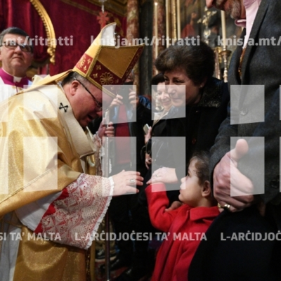Pontifikal Solenni fil-festa tan-Nawfraġju ta' Missierna San Pawl, fil-Knisja Parrokkjali ta' San Pawl Nawfragu – 10/02/19