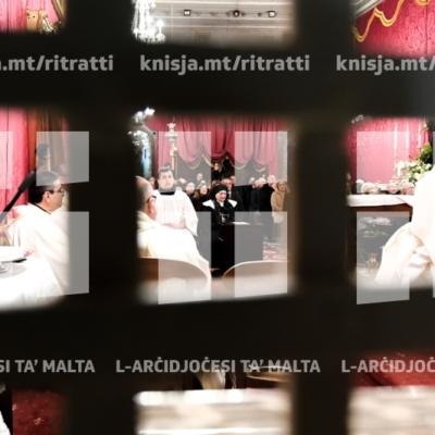 Quddiesa fil-festa tal-Beata Maria Adeodata Pisani fil-Monasteru ta' San Pietru fl-Imdina – 25/02/19