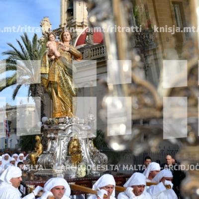 L-Arċisqof imexxi pellegrinaġġ penitenzjali u Quddiesa fl-okkażjoni ta' Ħadd in-Nies, Ħaż-Żabbar – 10/03/19
