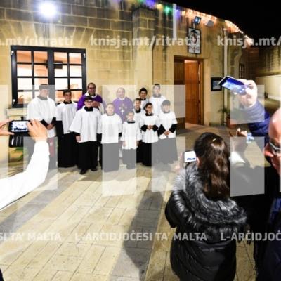 Quddiesa maż-żgħażagħ u l-adolexxenti – Viżta Pastorali Iklin – 09/03/19