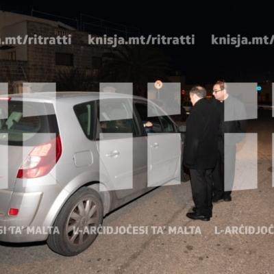 Mixja mal-parroċċa tal-Iklin u laqgħa mal-Kunsill Lokali waqt il-Viżta Pastorali – 11/03/19