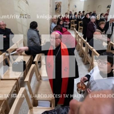 Tberik tal-Via Crucis il-ġdida tal-knisja parrokkjali tal-Iklin – 27/03/19