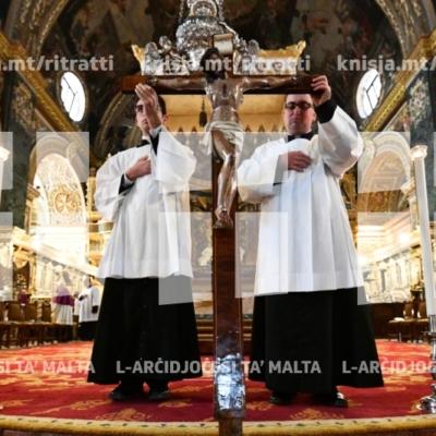 L-Arċisqof imexxi l-Azzjoni Liturġika tal-Passjoni u l-Mewt tal-Mulej – 19/04/19