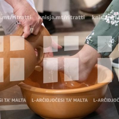 L-Isqof Awżiljarju imexxi l-Azzjoni Liturġika tal-Passjoni u l-Mewt tal-Mulej, Ħal Balzan – 18/04/19