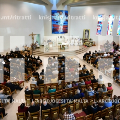Quddiesa tal-festa tal-Ħniena Divina, fis-Santwarju Ħniena Divina – 28/04/19