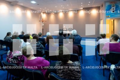 Laqgħa mal-operaturi pastorali waqt il-Viżta Pastorali f'Ta' Xbiex – 20/05/19