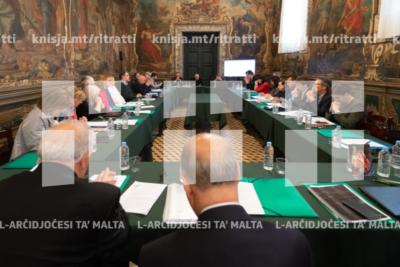L-Arċisqof jiltaqa' mad-delegati tal-Federazzjoni tal-Assoċjazzjonijiet tal-Familji Nsara fl-Ewropa (FAFCE) – 14/05/19