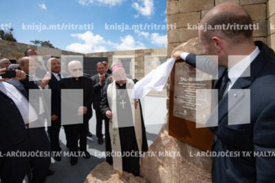 """Tberik tal-ġebla kommemorattiva taċ-ċentru terapewtiku għall-adolexxenti """"Tal Ibwar"""" – 17/05/19"""