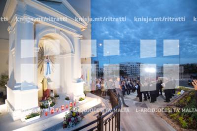 It-tberik tan-niċċa tal-Madonna taħt il-pont tal-Kappara – 22/05/19