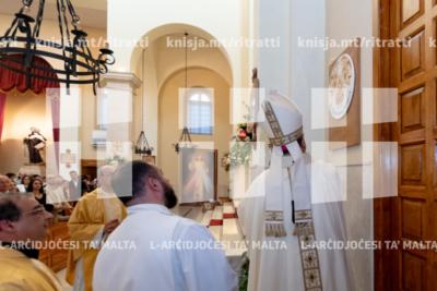 Quddiesa f'għeluq il‑50 sena anniversarju tal‑parroċċa San Ġwann tas‑Salib, Ta' Xbiex – 01/06/19