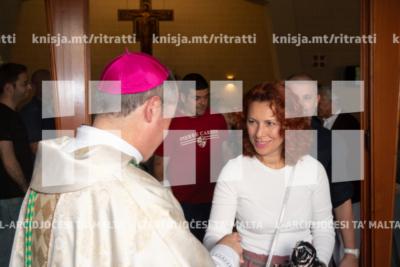 Quddiesa fil‑Knisja ta' Santa Marija tal‑Anġli, Baħar iċ‑Ċagħaq waqt Viżta Pastorali – 01/06/19
