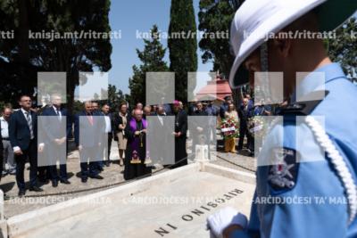 Quddiesa b'suffraġju tal-vittmi tas-Sette Giugno, fil-knisja taċ-Ċimiterju tal-Addolorata – 07/06/19