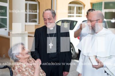 L-Isqof Awżiljarju jiċċelebra Quddiesa flimkien max-Xirka tal-Isem Imqaddes ta' Alla, f'San Vinċenz de Paul, Ħal Luqa – 16/06/19