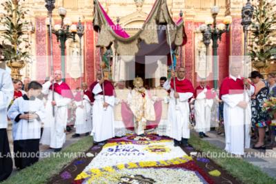 Festa ta' Corpus Christi fil-knisja parrokkjali ta' San Pawl, ir Rabat – 23/06/19