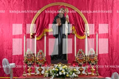 Quddiesa fil-festa ta' San Benedittu fil-Monasteru ta' San Pietru, l-Imdina – 11/07/19
