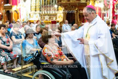 Quddiesa f'Jum il-Morda fil-festa tal-Lunzjata fil-knisja parrokkjali ta' Ħal Balzan – 12/07/19