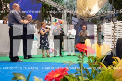 L-Arċisqof jiftaħ is-17-il edizzjoni tal-maratona Oħloq Tbissima, f'Dar San Ġużepp, Santa Venera – 19/07/19