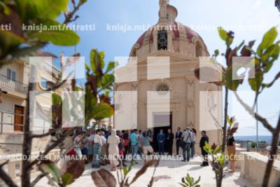 Konferenza tal-aħbarijiet u quddiesa fi tmiem tal-proġett ta' restawr tal-knisja tal-Bidnija – 21/07/19