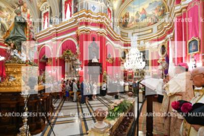 Quddiesa Pontifikali fil-festa tas-Salvatur, fil-knisja parrokkjali ta' Ħal Lija – 06/08/19