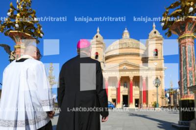 Quddiesa fil-festa ta' Santa Marija fil-knisja parrokkjali tal-Imġarr – 18/08/19
