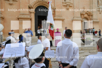 Quddiesa fin-novena tal-festa ta' Marija Bambina, fil-Knisja Arċipretali, in-Naxxar – 31/08/19