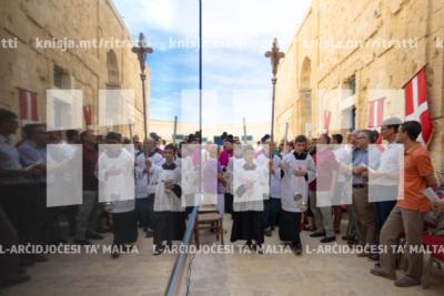 Quddiesa fil-Kappella tat-Twelid tal-Verġni Marija,fil-Forti Sant'Anġlu – 08/09/19