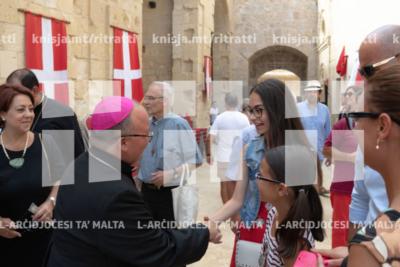 L-Arċisqof jiltaqa' man-nies fil-Forti Sant'Anġlu – 08/09/19