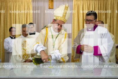 Konsagrazzjoni tal-artal fil-Knisja tad-Duluri fil-Ħamrun – 15/09/19