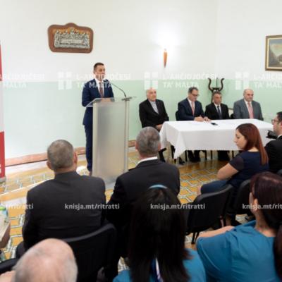 Ftehim bejn il-Knisja u l-Gvern għal sodod fid-djar tal-Knisja għall-anzjani – 30/09/19
