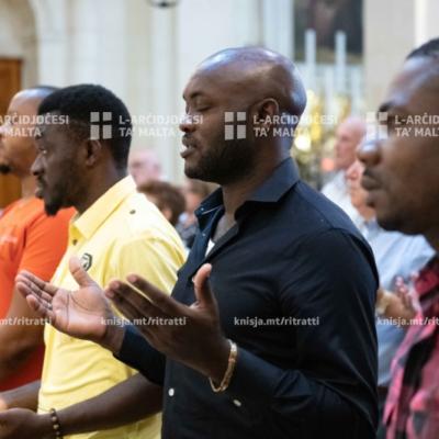 Quddiesa fl-okkażjoni ta' Jum l-Emigranti u r-Refuġjati fil-Knisja tas-Salib Imqaddes tal-Kappuċċini fil-Furjana – 29/09/19
