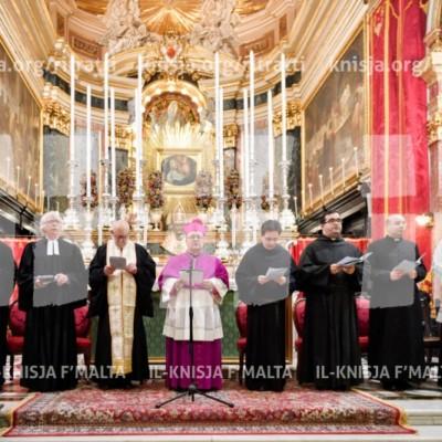 Servizz Ekumeniku fil‑Ġimgħa ta' Talb għall-Għaqda fost l-Insara – 19/01/17