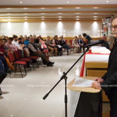 L-Isqof Awżiljarju jindirizza l-Assemblea Ġenerali AKM, l-Istitut Kattoliku, il-Furjana – 08/11/19