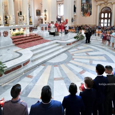 L-għoti tas-Sagrament tal-Griżma lill-adolexxenti, fil-Knisja Parrokkjali ta' Kristu Re, Raħal Ġdid – 17/11/19