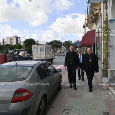 Viżta Pastorali fl-Imsida: Mawra mal-Imsida u Quddiesa fil-Knisja Arċipretali ta' San Ġużepp, l-Imsida – 01/12/19
