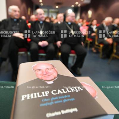 Tnedija tal-bijografija ta' Mons. Philip Calleja, f'Dar l-Emigrant – 04/12/19
