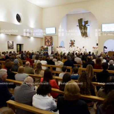 Quddiesa fil-Festa ta' Marija Immakulata fl-okkażjoni tal-20 sena mit-twaqqif tal-parroċċa tal-Ibraġġ – 08/12/19