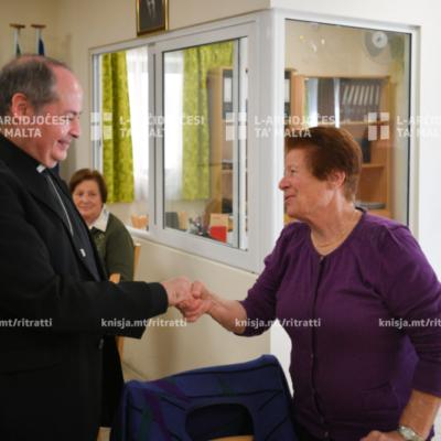 Viżta Pastorali Msida: Żjara fid-Day Centre – 27/11/19