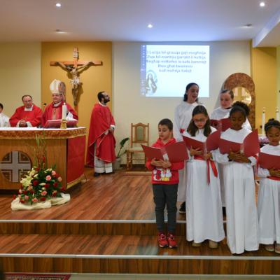 Quddiesa għall-Operaturi Pastorali nhar il-Festa ta' Santa Luċija, fil-Knisja Parrokkjali tal-Imtarfa – 13/12/19