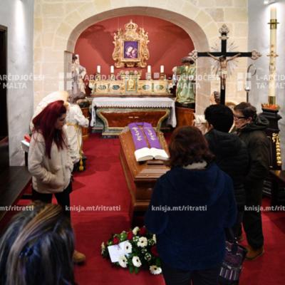L-aħħar tislima lill-Kardinal Prospero Grech fil-Kunvent Agostinjan ta' San Mark fir-Rabat – 09/01/20
