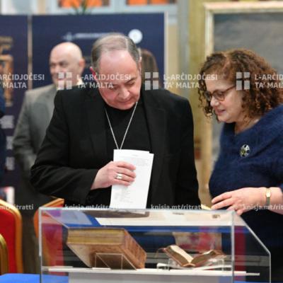 L-Isqfijiet żaru l-wirja tal-Kunsill Ekumeniku, fil-Palazz tal-Arċisqof, il-Belt Valletta – 23/01/20