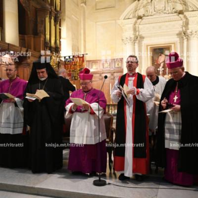 Servizz Ekumeniku Djoċesan fil-Pro-Katidral ta' San Pawl, il-Belt Valletta – 24/01/20