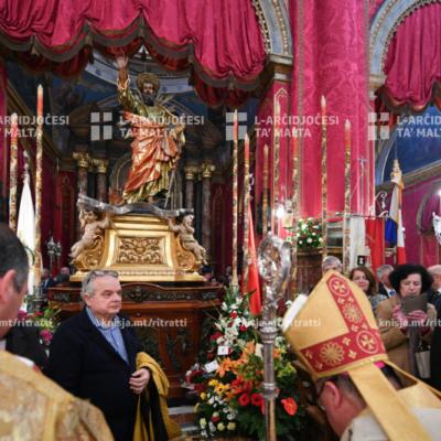 Pontifikal Solenni fil-festa tan-Nawfraġju ta' Missierna San Pawl – 10/02/20