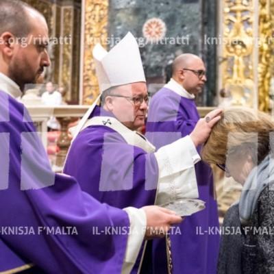 Quddiesa tal‑Erbgħa tal‑Irmied – 01/03/17